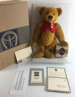 """""""Dawson"""" Antique Style Mohair Bear -Knickerbocker Collectible Toy Co. Limited Ed"""