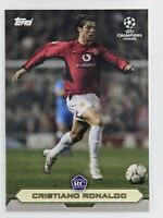 2020 Topps Cristiano Ronaldo RC Lost Rookie Manchester United In Hand Ships US