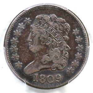 1809 C-4 R-3 PCGS VF 20 Circle in 0 Classic Head Half Cent Coin 1/2c