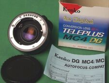 Pentax Screwdrive Autofocus lenses KENKO Teleconverter Pz-AF 2X Teleplus MC4 DG