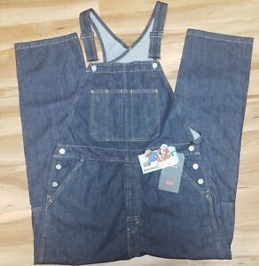 Levis x Nintendo Super Mario Overalls Men's SZ Large New!!!