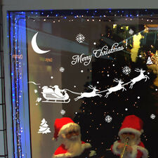 Hot White Merry Christmas Christmas Decoration Decal Window Stickers Home Decor