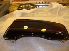 HARLEY DAVIDSON RH Right Saddlebag Cover/Lid 90627-07CKS Vivid Black w/pinstripe