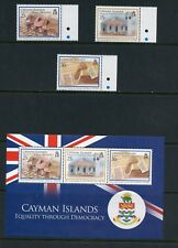 P335  Cayman Islands 2009  women's suffrage, Constitution    MNH
