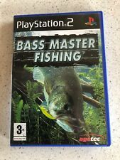 Bass Master Fishing PS2 Includes Manual Pal Free Postage