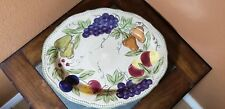 "Tabletops Unlimited ""Francesca"" Serving Platter 18"""