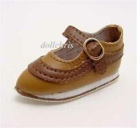 "Shoes for Tonner Matt O'Neill 16"" Hermione Doll Tan/Brown Sport M J Custom Size"