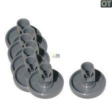 8x ORIGINAL Rouleau panier Roues égouttoir à vaisselle dessous Lave-vaisselle