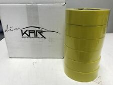 24 ROLLS KAR112CS AUTO BODY PAINT MASKING TAPE 1.41 IN / P X 60 YARDS DEAL!