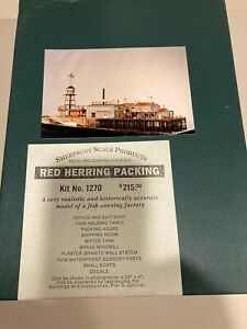 Sheepscot Scale Products Kit #1270 Red Herring Packaging - Unassembled