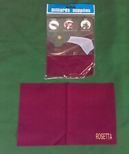 ROSETTA PREMIUM MICROFIBRE SNOOKER POOL CUE TOWEL BALL CLOTH POLISHER CLEANER
