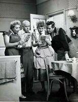 I Love Lucy Lucille Ball Desi Arnaz Vivian Vance William Frawley  B/W 8x10 Photo