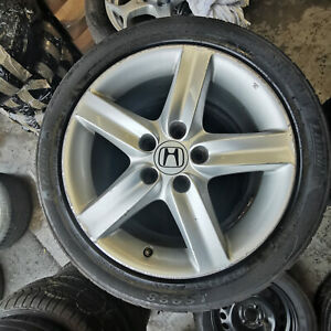 HOND CIVIC 17 INCH ALLOY WHEEL & TYRE   014