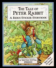 Tale of Peter Rabbit:  Rebus Sticker Storybook - Beatrix Potter - Free S/H Offer