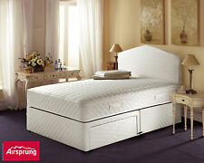 Airsprung Fabric Medium Firm Beds with Mattresses