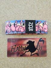 ZOX Strap Flamin' Go Flamingo Pink Bird Bracelet Wristband with Card Medium NEW