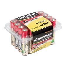 PRATIQUE : Box 24 Piles super alcalines CAMELION AAA/LR3