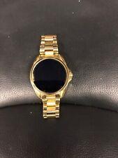 Michael Kors Access Digital Bradshaw Gold Smartwatch Touchscreen MKT5001