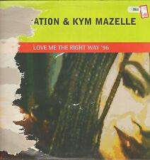 RAPINATION & KYM MAZELLE Love Me The Derecho Way '96 D.Pinza,Kamasutra Rmxs con
