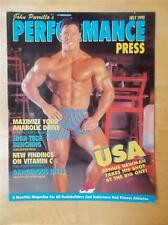 PERFORMANCE PRESS muscle magazine/booklet/DENNIS NEWMAN 7-93