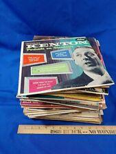 "50 All 10"" Lp Record Lot 1950s Jazz Big Band Ost Pop Rare Format Vtg"