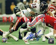 RICHARD DENT Signed Chicago Bears Super Bowl XX Sack 8x10 Photo w MVP XX Reprint