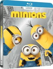 MINIONS 3D blu ray steelbook  - 2 disc set  ( NEW )