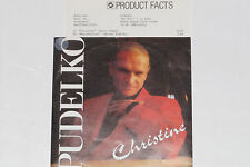 "PUDELKO -Christine / Menschentier- 7"" 45 mit Product Facts Promo-Flyer"