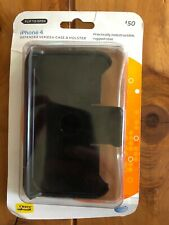 IPhone 4 Case & Holster AT&T Black Otter Box..Same Day Shipping!!  #X