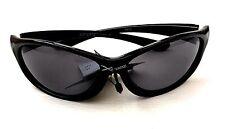 Men's Sports Sunglasses Xsportz XS12 Black Frame Black lens 100% UV Protection