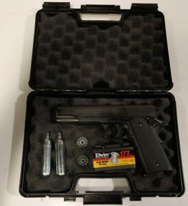 Colt 1911 Government CO2 Pellet Pistol .177 Air Gun, made in Germany