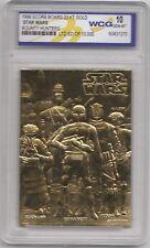 Bounty Hunters, Graded Gem Mint 1996 Score 23KT Gold Card