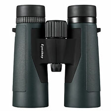 Eyeskey Green 10x42 Roof Prism Bak4 Binoculars for Outdoor Camping Hunting