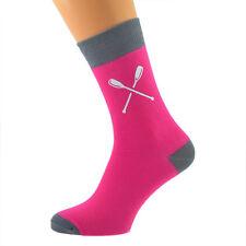 Sensual Rosa y Gris pizarra Calcetines Para Hombre Con Diseño Remos Remo X6TC005-050