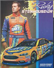 "2017 RICKY STENHOUSE JR ""SUNNY D"" #17 MONSTER ENERGY NASCAR POSTCARD"