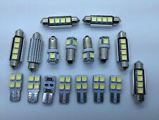 AUDI A6 4F C6 S6 RS6 AVANT FULL LED Interior Lights KIT 17 pcs SMD Bulbs White