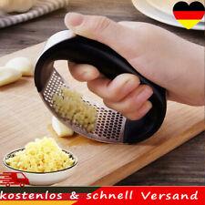 Edelstahl Manuelle Knoblauchpresse Brecher Quetscher Stampfer Küchengeräte