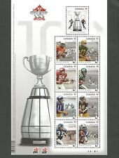 85c  100TH GREY CUP  PANE OF 9    # 2567