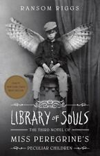 LIBRARY OF SOULS - RIGGS, RANSOM - NEW HARDCOVER BOOK