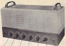1951 Webster Electric 82-25 Amplifier Service Manual photofact 82A 83