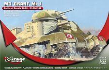 """M3 Grant MK I """"batalla de Ghazala"""" (marcas británicas) 1/72 Mirage a estrenar!"""