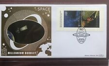 2000 (184) Space  Millennium booklet GOLD 500 FDC - 22ct LE Leicester