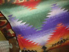 RALPH LAUREN CANYON BRIGHT SOUTHWESTERN GREEN BLACK ORANGE STANDARD PILLOWCASE