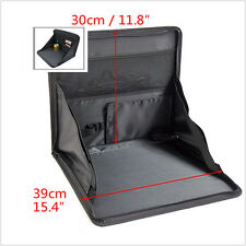 Portable Foldable Table Car Seat Mount Holder Tray Notebook Desk Food Cup Holder