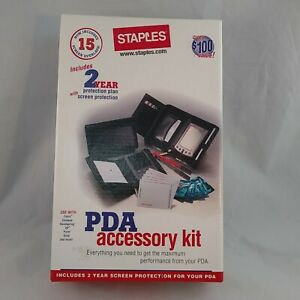 PDA  Accessory Kit With Anti Static Wipes, Pen, Note Pad Includes Sony Clie Disc