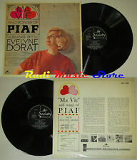 LP EVELYNE DORAT Ma vie and songs of piaf EDITH 1966 england cd mc dvd vhs