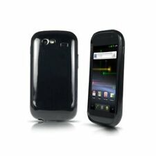 Sprint Gel Cover Samsung Nexus S 4G Black New CZS0566R