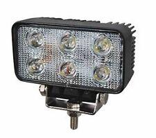 DURITE 0-420-71 12/24V 6 LED WORK LAMP BLACK ALUMINIUM BODY  x 1