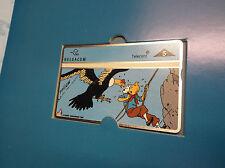 Carte de téléphone 5ème carte Tintin  ETAT NEUF