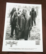Borknagar 1996 OFFICIAL PROMO PICTURE 5 X 7 MINT  VERY RARE HTF OOP BLACK METAL